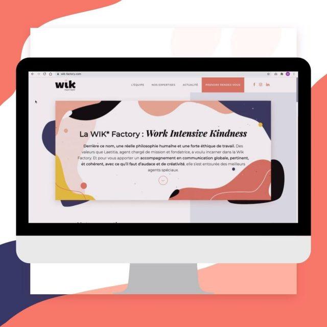 [🎉 SO HAPPY ] On ne pouvait pas attaquer 2021 sans mettre en ligne notre site internet... pari réussi 👉🏻 lien en bio !  Sacrée mission que de faire sa propre communication... Un grand merci à toute l'équipe projet d'avoir pris le temps de peaufiner chaque détail pour qu'il soit à notre image : créatif, dynamique, souriant et sincère 🤩  ✏️ Et vous, vous en pensez quoi?  #yeswedidit #wearehere #instamoment #haveaniceday #wikteam  #wikfactory #bigdayforus #strasbourg #lampertheim #webdesignonline  #evolution