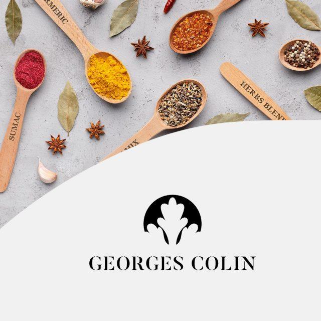 [Zoom projet @georgescolin.epices ]  Décembre 2020 était synonyme de lancement pour Georges Colin. Un challenge fou d'ouvrir une boutique en 1 mois 😲  auquel nous sommes fiers d'avoir participé 💪🏻   RDV au 5 rue Gutenberg pour découvrir une sélection unique  de près de 200 épices pour réveiller votre odorat et vos papilles 😋  Pour les plus impatients, direction le site de vente en ligne > https://www.georgescolin.com/ (👋🏻 @agence_pan !)  Nos missions : 🙋🏼♂️ Conseils et accompagnement  👩🏼💻 Packagings, déclinaison de supports de communication print 🖥  Habillage de vitrine